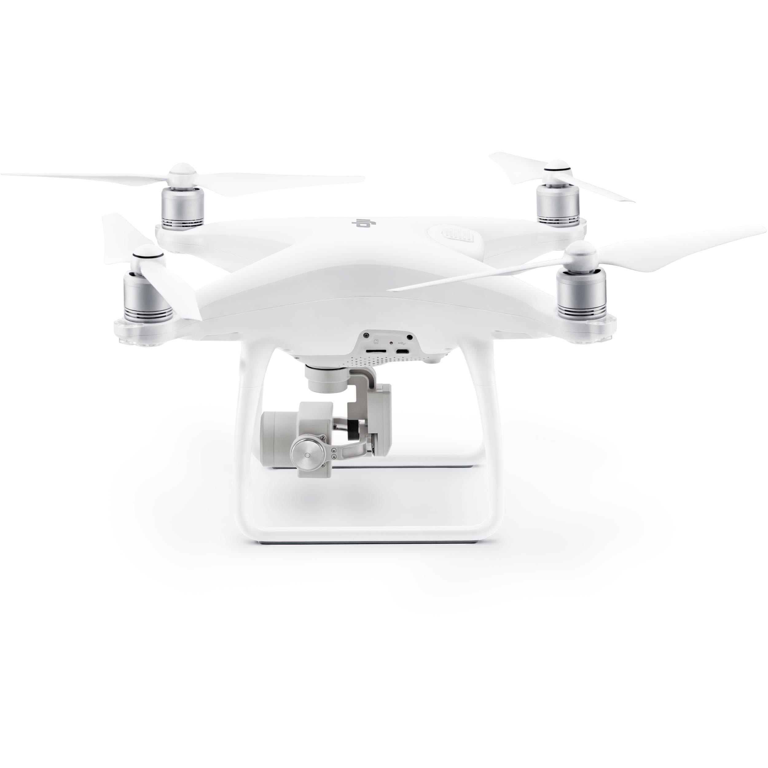 DJI Phantom 4 Quadcopter Drone Bundle avec le fabricant Accessoires + suppl?mentaire DJI Intelligent Card Flight + batterie + M?moire 32Go Sac ? dos pour DJI Phantom Drones + SSE ? distance / ?metteur - image 3 de 7