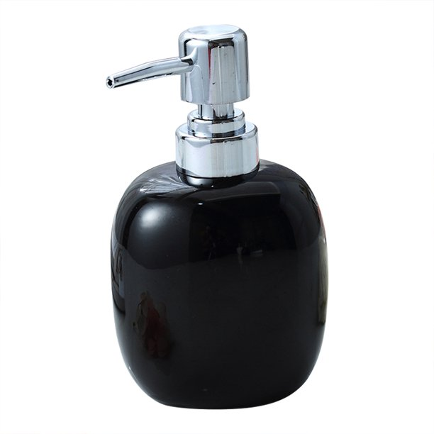 Ceramic Soap Dispenser Bottle Liquid Soap Dispenser With Pump Dispenser Container For Bathroom Kitchen Bathroom Accessories Walmart Com Walmart Com