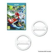 Refurbished Mario Kart Game Bundle With 2 Wii Wheels White For Wii U