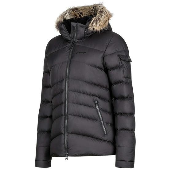 2472503e7 Marmot Ithaca Women's Down Puffer Jacket, Fill Power 700, Jet Black ,Large