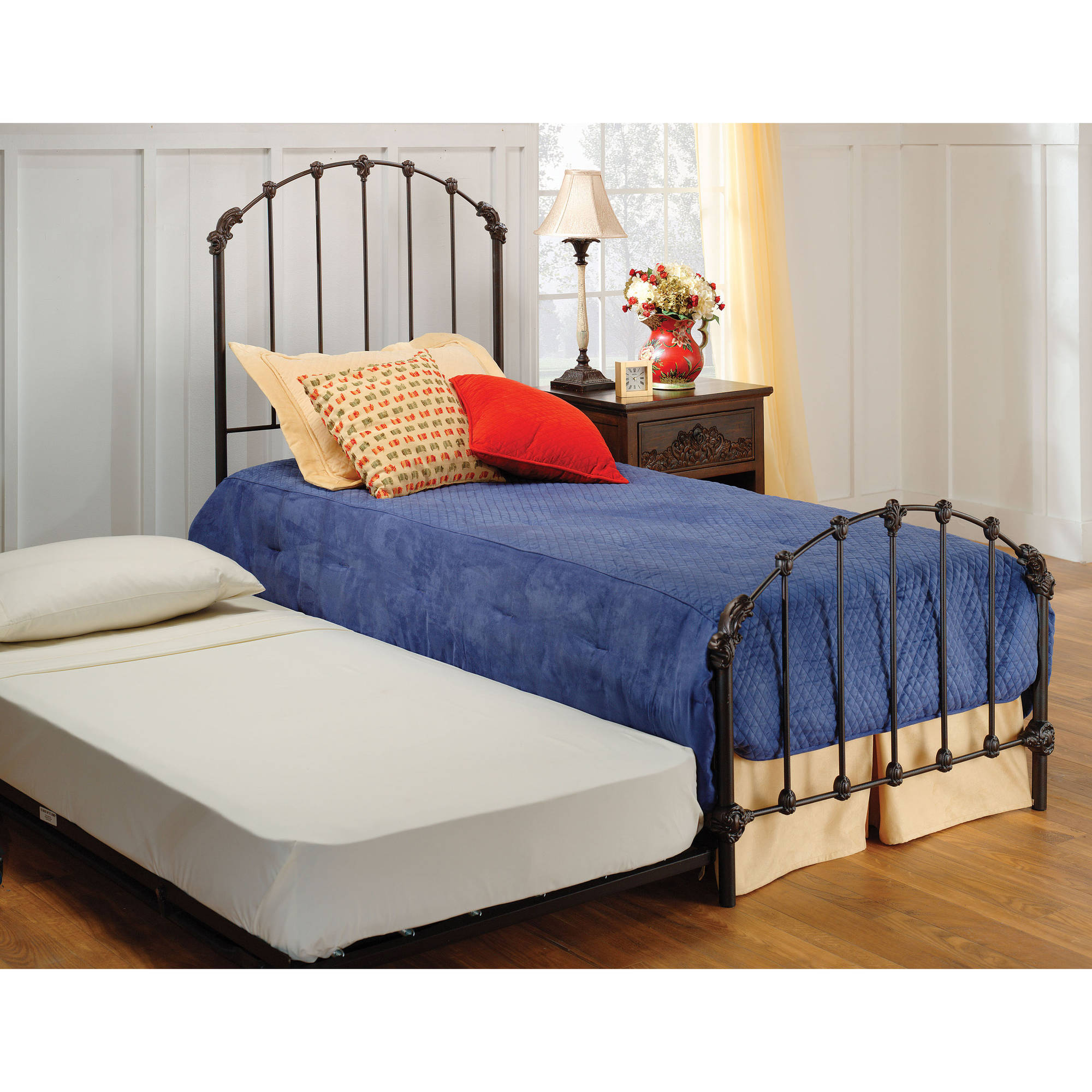 Hillsdale Furniture Bonita Twin Bed with Bedframe and Trundle by Hillsdale Furniture