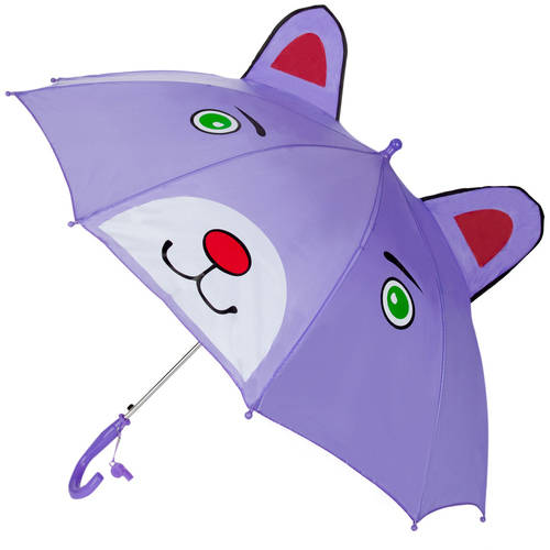 Image of Aerusi 3D Kids Character Umbrella with Safetly Whistle