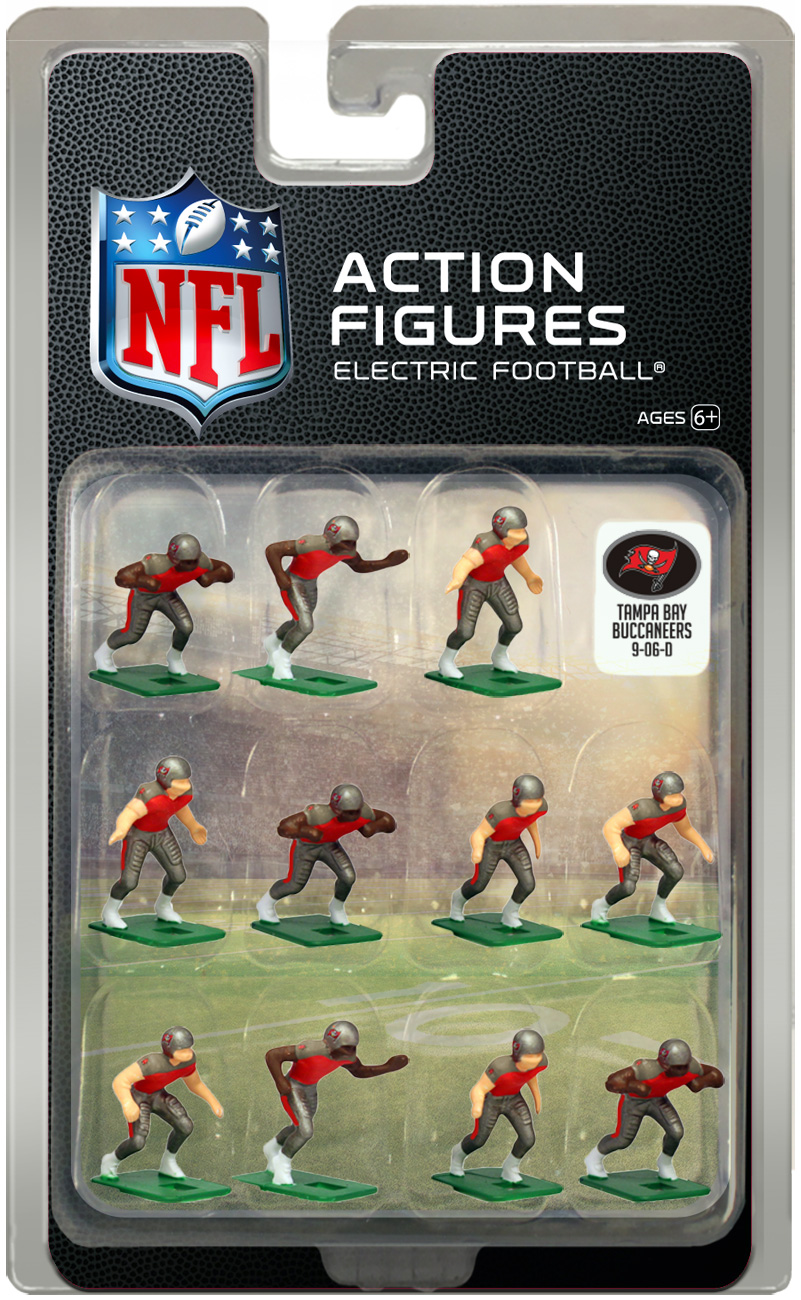 Tampa Bay Buccaneers Home Uniform NFL Action Figure Set by Tudor Games