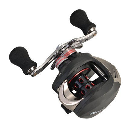 11+1BB 6.3:1 Ball Bearings Left Hand Bait casting Fishing Reel High Speed Black thumbnail