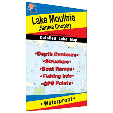 Moultrie Map, Lake (Santee Cooper) - Walmart.com on charleston county sc map, city of tallahassee map, anderson county sc map, santee lake marion map, first energy map, time warner cable map, frontier communications map, xcel energy map, centerpoint energy map, sams club map, wells fargo map, consumers energy map, verizon wireless map, salt river project map, sarasota keys map, at&t map, tennessee valley authority map, walmart map, georgia power map, isle of palms sc map,