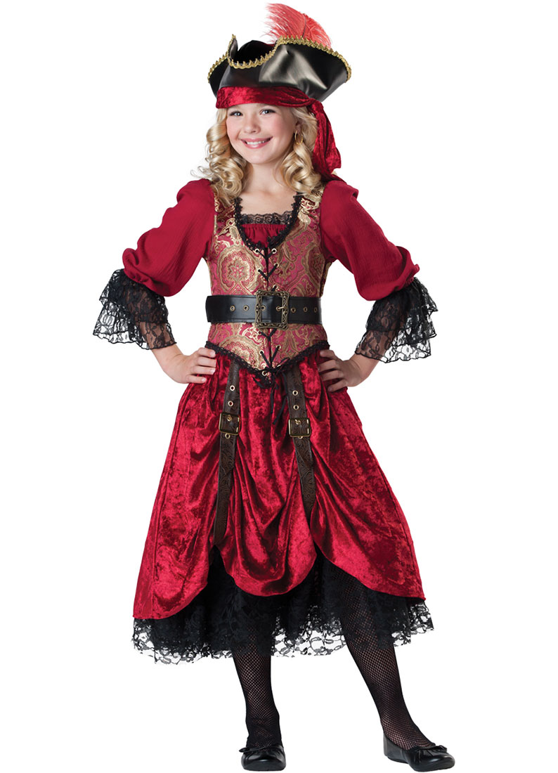 Child Swashbucklin Scarlet Pirate Costume by Incharacter Costumes LLC 7042 by Incharacter Costumes LLC