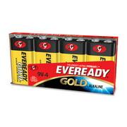 Eveready Gold Alkaline 9-volt Batteries - 9v - Alkaline - 9 V Dc (a5224ct)