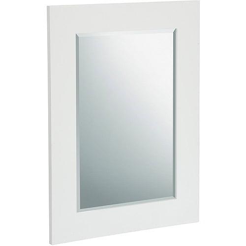 Elegant Home Fashions Milan Wall Mirror, White