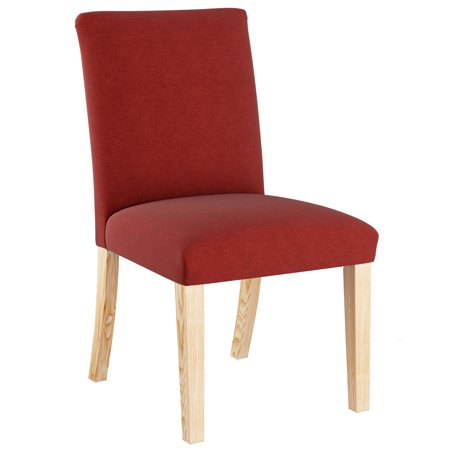 Skyline Furniture Dining Chair in Linen Antique Red