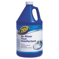 Zep Commercial No-Rinse Floor Disinfectant, 1 gal Bottle -ZPEZUNRS128EA