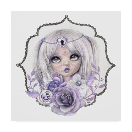 Lavender Grey (Trademark Fine Art 'Lavender Grey' Canvas Art by Sheena Pike Art And)