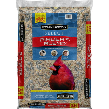 Pennington Select Birder's Blend Wild Bird Seed, 40 lbs (Sunflower Wild Bird Seed)