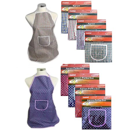1 Apron Smock Classic Wear Kitchen Cooking Grilling BBQ Chef Cook Bib