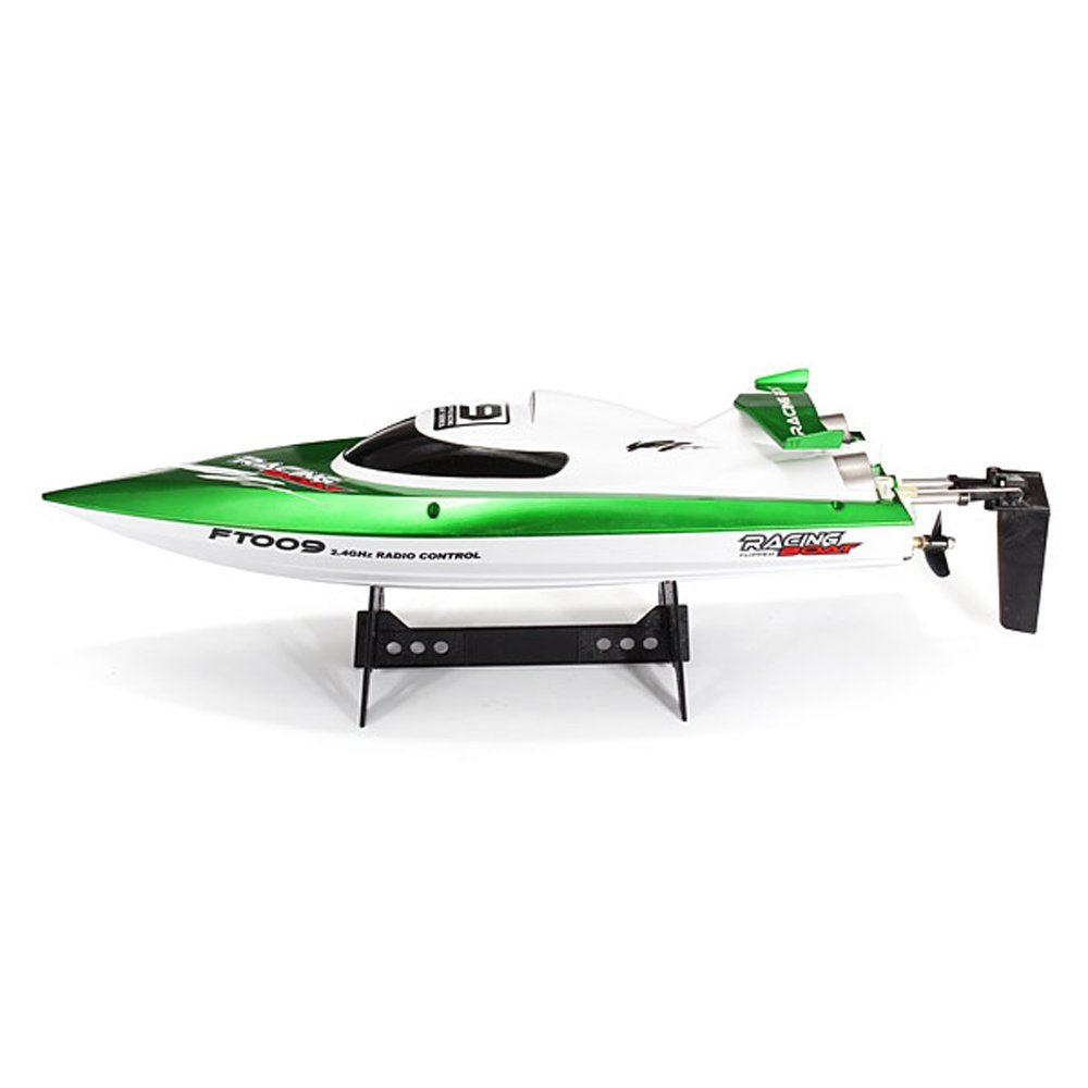 FT009 2.4G 4CH Remote Control High Speed RC Racing Boat w...