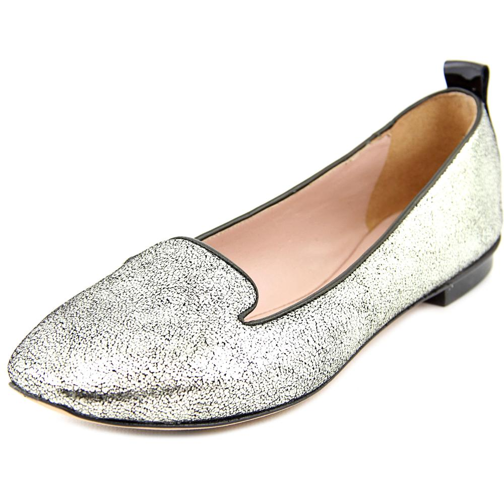 One 13E328 Women US 6 Silver Loafer EU 36