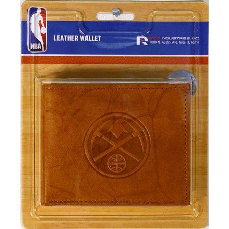 Denver Nuggets NBA Embossed Leather Billfold (Denver Nuggets Wallet)