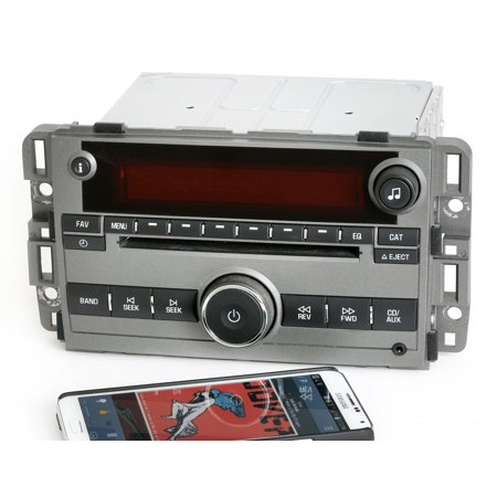 saturn 2009 vue gray radio am fm cd player w bluetooth. Black Bedroom Furniture Sets. Home Design Ideas