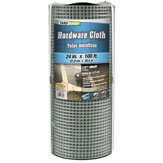 23 Ga Wire 1//4 x 24 x 50 23 Ga Wire 1//4/' x 24/' x 50/' 50 Ft Roll L X 24 In W Jackson Wire 11052313 Hardware Cloth 1//4 In Mesh