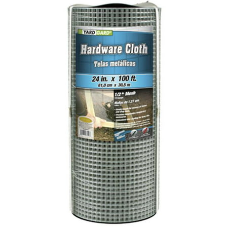 Midwest Air Tech/Import 308246B Galvanized Metal Hardware Cloth Fence, 24-In. x 100-Ft.