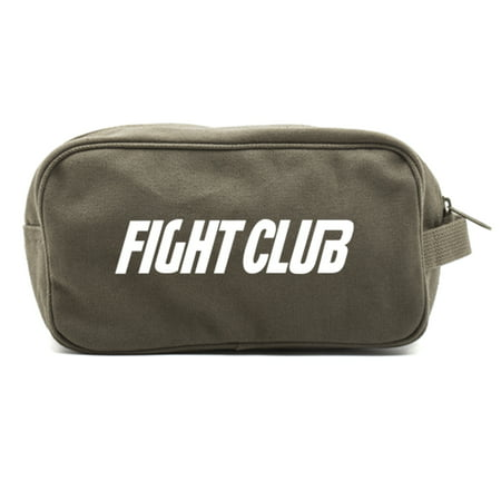 FIGHT CLUB Fighting Boxing Dual Two Compartment Travel Toiletry Dopp Kit