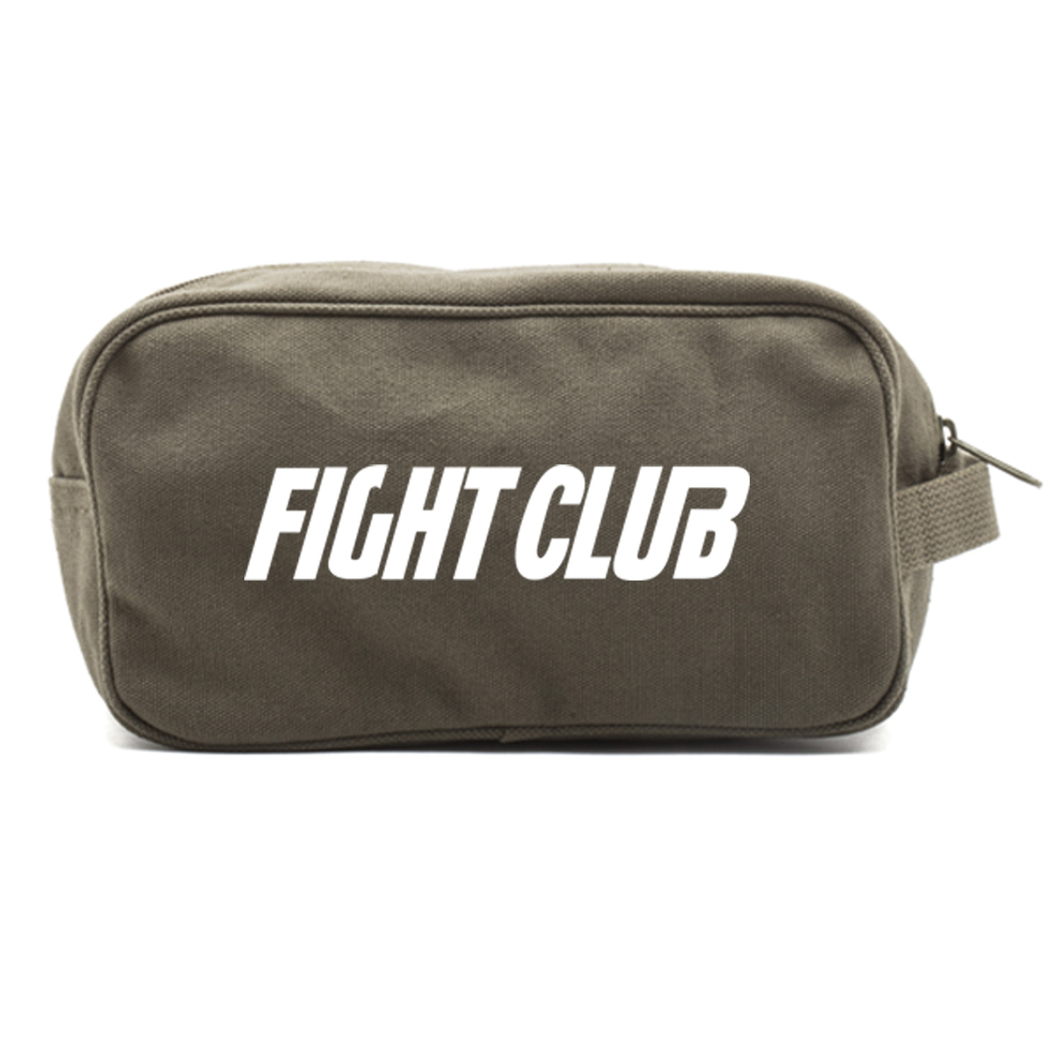 FIGHT CLUB Fighting Boxing Dual Two Compartment Travel Toiletry Dopp Kit Bag