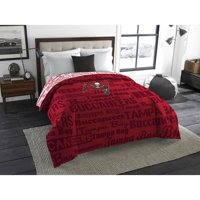 "NFL Tampa Bay Buccaneers ""Anthem"" Twin or Full Bedding Comforter, 1 Each"