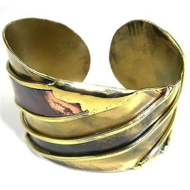 Brass Images Brass & Copper Serenity Cuff