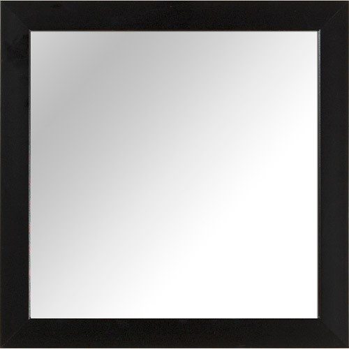 "Ptm Images 14"" X 14"" Mirror, Black"