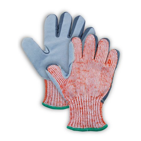 Magid CutMaster ANSI Cut Level 5 Split Leather Palm Gloves Size 12, 12 Pairs ()