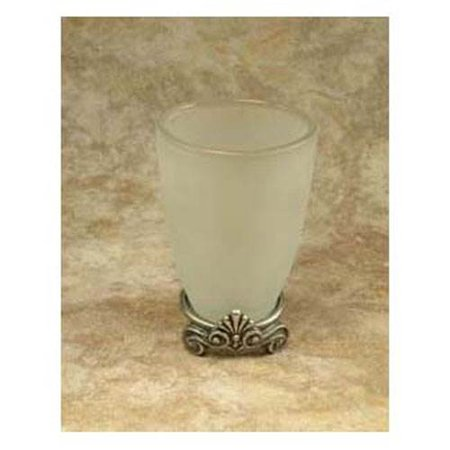 Corinthia Tumbler w/Attached Base (Antique Bronze)