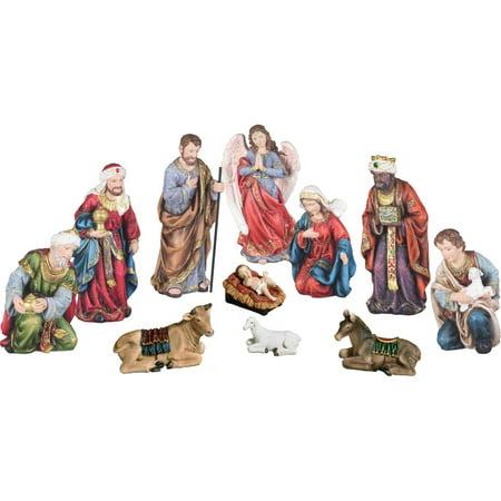 OK Lighting Piece Nativity Sets](Outdoor Nativity Set)