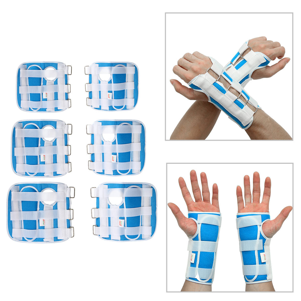 S/M/L Breathable Medical Carpal Tunnel Wrist Brace Pad Right and Left Hands Splint Support Arthritis Sprain Gym Hand Protector Adjustable