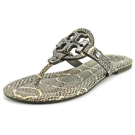06b7e7d35 Tory Burch - Tory Burch Miller 2 Women US 9.5 Black Thong Sandal ...