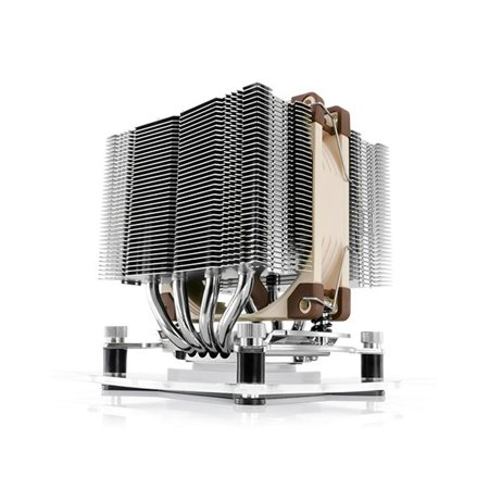 Dual Tower CPU Cooler for Intel LGA 2011-0/LGA 2011-3 Square ILM/1156/1155/1150 and AMD AM2/AM2+/AM3/3+,FM1/2 NH-D9L, While most low-profile coolers blow air.., By