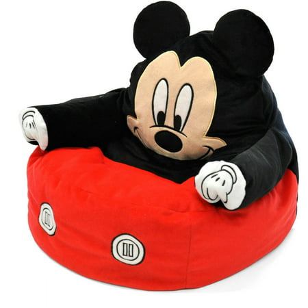 Mickey Mouse Character Figural Toddler Bean Chair - Mickey Mouse Cut Out