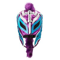 Official WWE Authentic Rey Mysterio Purple/Teal Replica Mask Multi