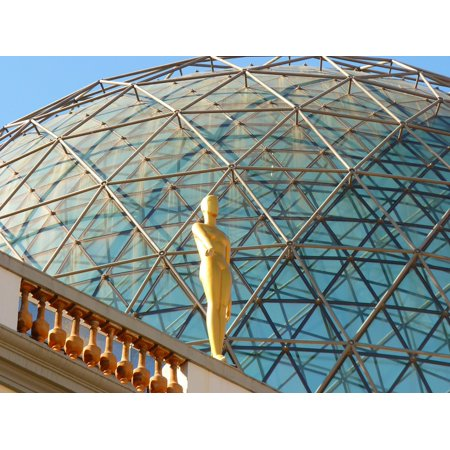 Museum Glass (LAMINATED POSTER Glass Dome Fig Golden Figueras Museum Spain Dal Poster Print 24 x 36 )
