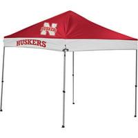 NCAA Nebraska Cornhuskers 9' x 9' Straight Leg Canopy by Rawlings
