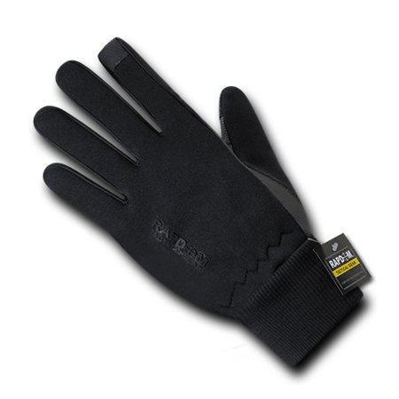 Neoprene Gloves With Cuff, Black, 2X