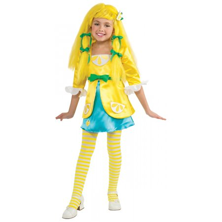 Strawberry Shortcake Deluxe Lemon Meringue Costume Child Toddler - Strawberry Shortcake Onesie