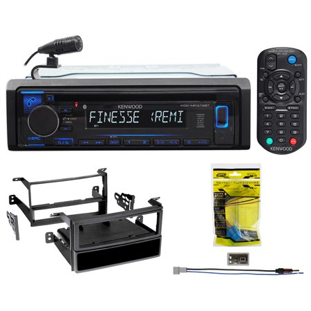 Kenwood 1-Din CD Receiver w/Bluetooth iPhone/Android For 06-08 Honda Pilot
