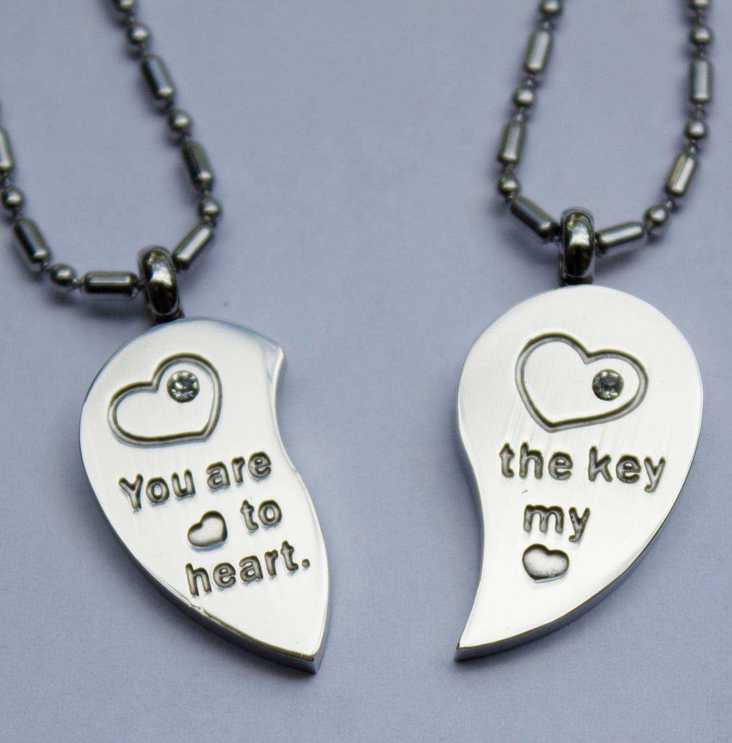 Love Jewelry Love Necklace Couple Locket Love Locket Couple Jewelry Art jewelry by Cut the Fish Jewelry Love Couple