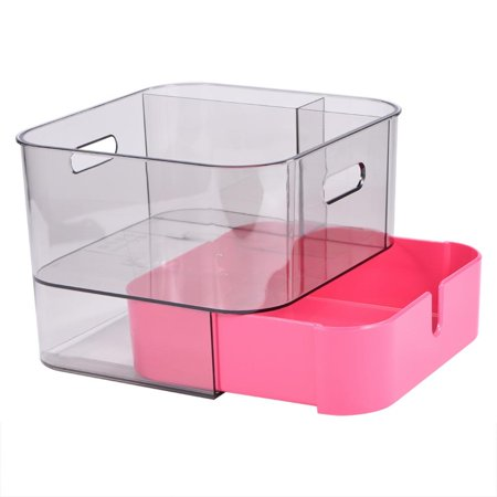Cosmetics Makeup and Jewelry Organizer with Drawers for Creams Lipsticks Brushes Holder Storage Box  Bathroom Kitchen Office Desk Organization