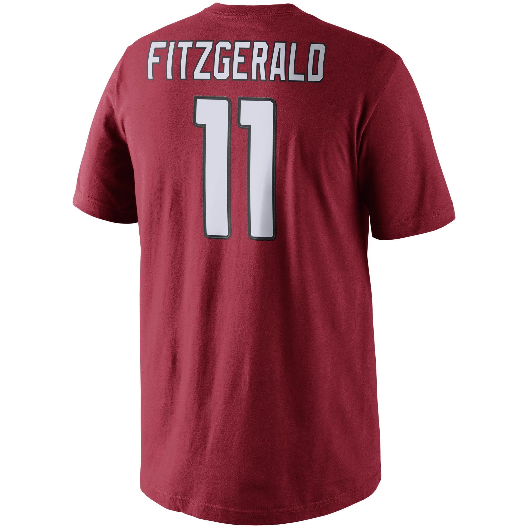 4b63d66ac Nike Men s Arizona Cardinals Larry Fitzgerald  11 Pride Red T-Shirt -  Walmart.com