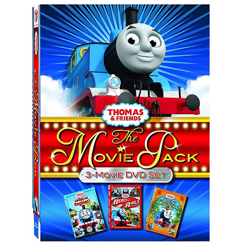 Thomas And Friends Movie Pack: Hero Of The Rails / The Great Discovery Movie / Calling All Engines!