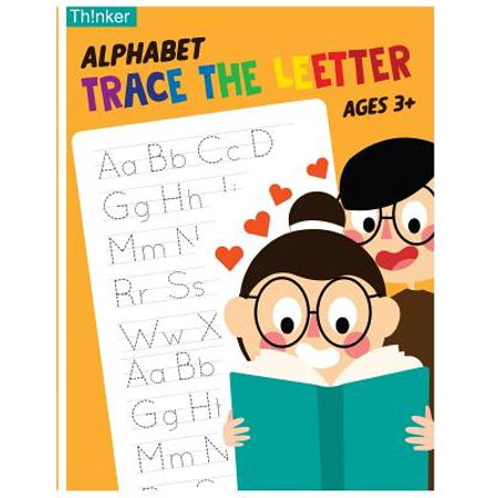 Alphabet Trace the Letters Ages 3+ : Handwriting Printing Workbook (Pre-Kinder, Kindergarten - Bubble Alphabet Letters