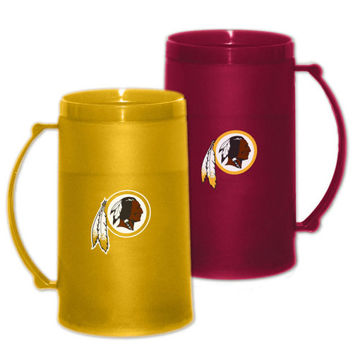 NFL - Washington Redskins 15 oz Freezer Mug 2 Pack: Home & Away H20 Mug Set