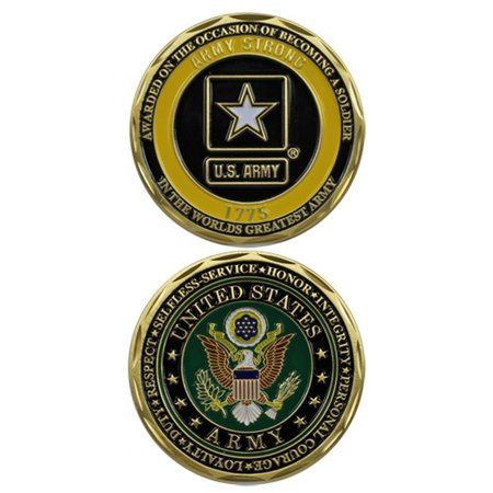 Eagle Design Award (U.S. Army Soldier Award Challenge Coin by Eagle Crest)