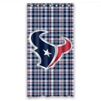 Product Image DEYOU Houston Texans Shower Curtain Polyester Fabric Bathroom Size 36x72 Inch