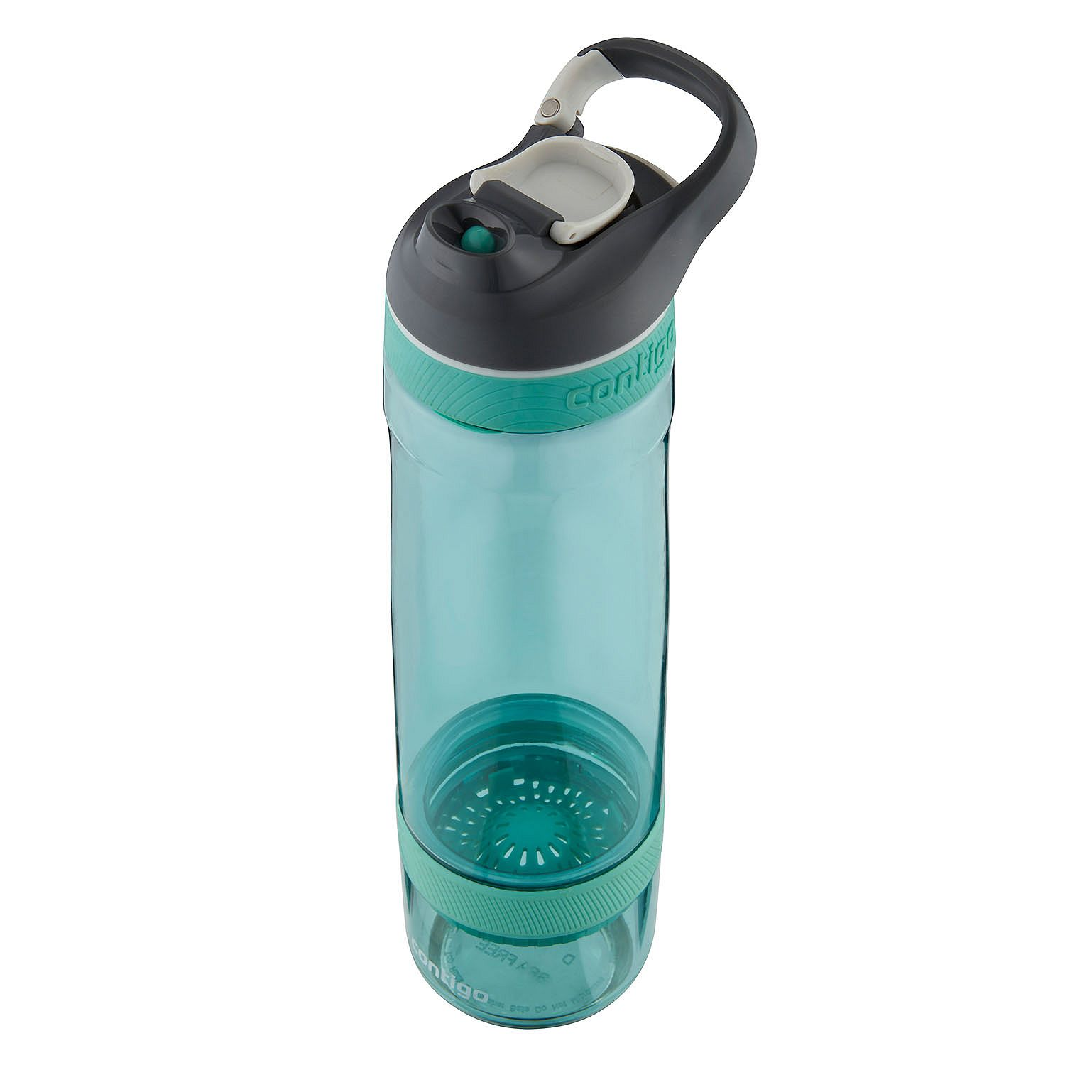 0054670b04 Contigo Autoseal Cortland + Infuser Bottle Set, 26 Oz, Grayed  Jade/Grapevine - Walmart.com